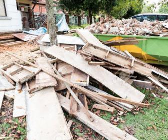 statybinių atliekų išvežimas kaina